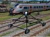 O dronie, który jeździł koleją