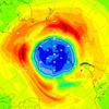 Copernicus: dziura ozonowa na półkuli południowej przekracza rozmiary Antarktydy