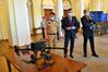 Przekazanie dronów Komendzie Wojewódzkiej PSP w Warszawie