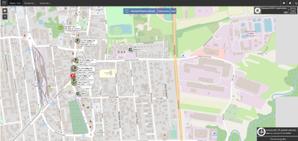 W gminie Piaseczno rusza innowacyjne centrum dyspozytorskie <br /> Zrzut z ekranu dyspozytora