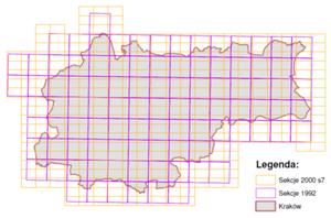 Kraków zamawia dane 3D <br /> Zasięg opracowania (źródło: SIWZ)