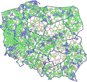 Ponad połowa gmin udostępnia miejscowe plany w krajowej integracji MPZP