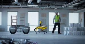 Do nogi, czyli Trimble testuje nowy sposób sterowania robotem pomiarowym