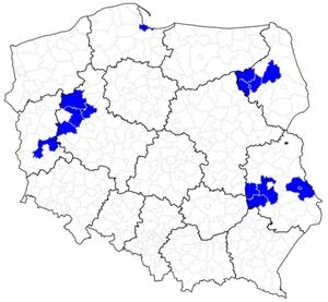 Rusza aktualizacja BDOT10k w kolejnych 16 powiatach