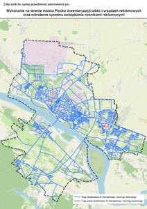 Trzech chętnych do mobilnego skanowania płockich ulic <br /> Ulice i ciągi pisze przeznaczone do inwentaryzacji