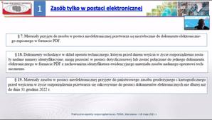 Co branża sądzi o rozporządzeniach ws. PZGiK oraz EGiB? <br /> Fragment prezentacji GGK dotyczącej rozporządzenia ws. PZGiK