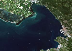 Najpiękniejsze zdjęcia Ziemi z platformy CREODIAS <br /> III miejsce: Adriana Marcinkowska-Ochtyra, Triest we Włoszech