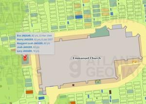W Anglii rusza wielkie skanowanie grobów <br /> Pilotażowa mapa opracowana w ramach projektu